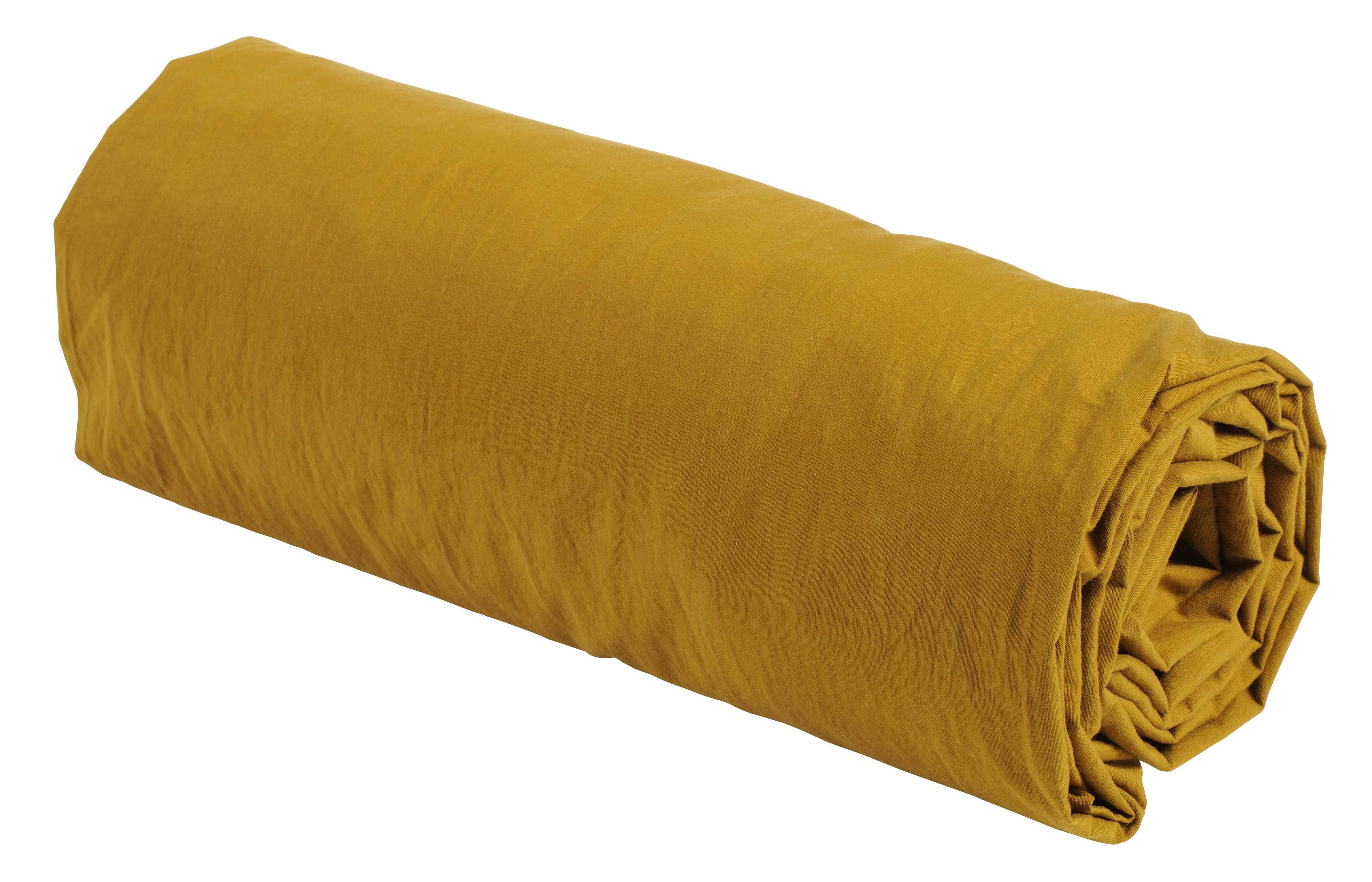 drap housse couleur Fitted sheet Dijon 90   La cerise sur le gâteau   Made in Europe drap housse couleur