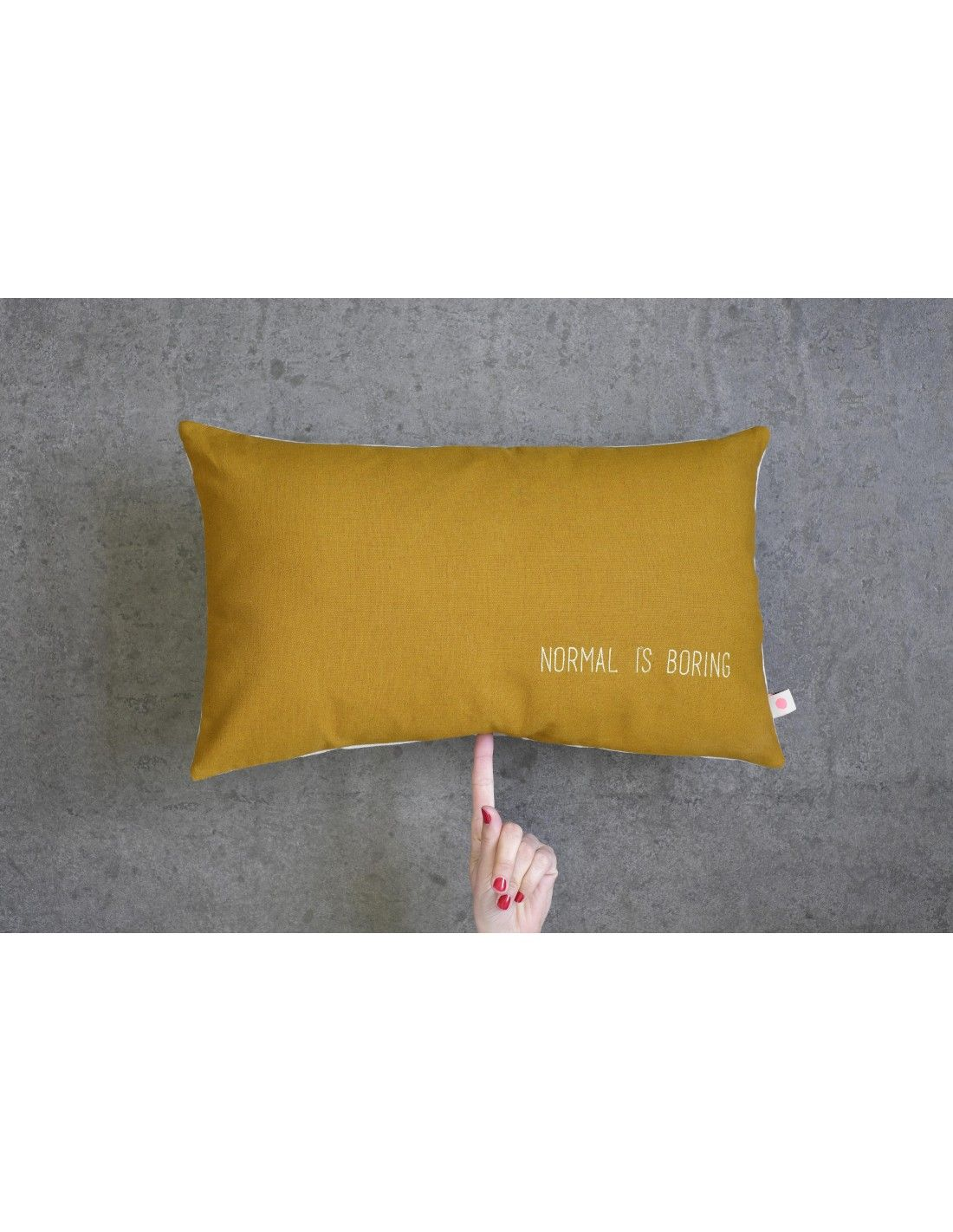 Cushion cover lina boring dijon anne hubert made in for Housse de coussin 30 x 30