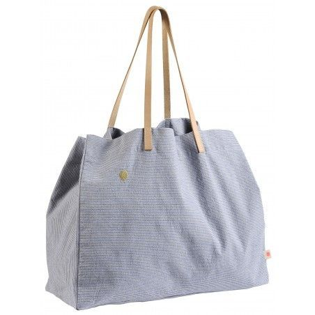 SHOPPING BAG FINETTE INDIGO