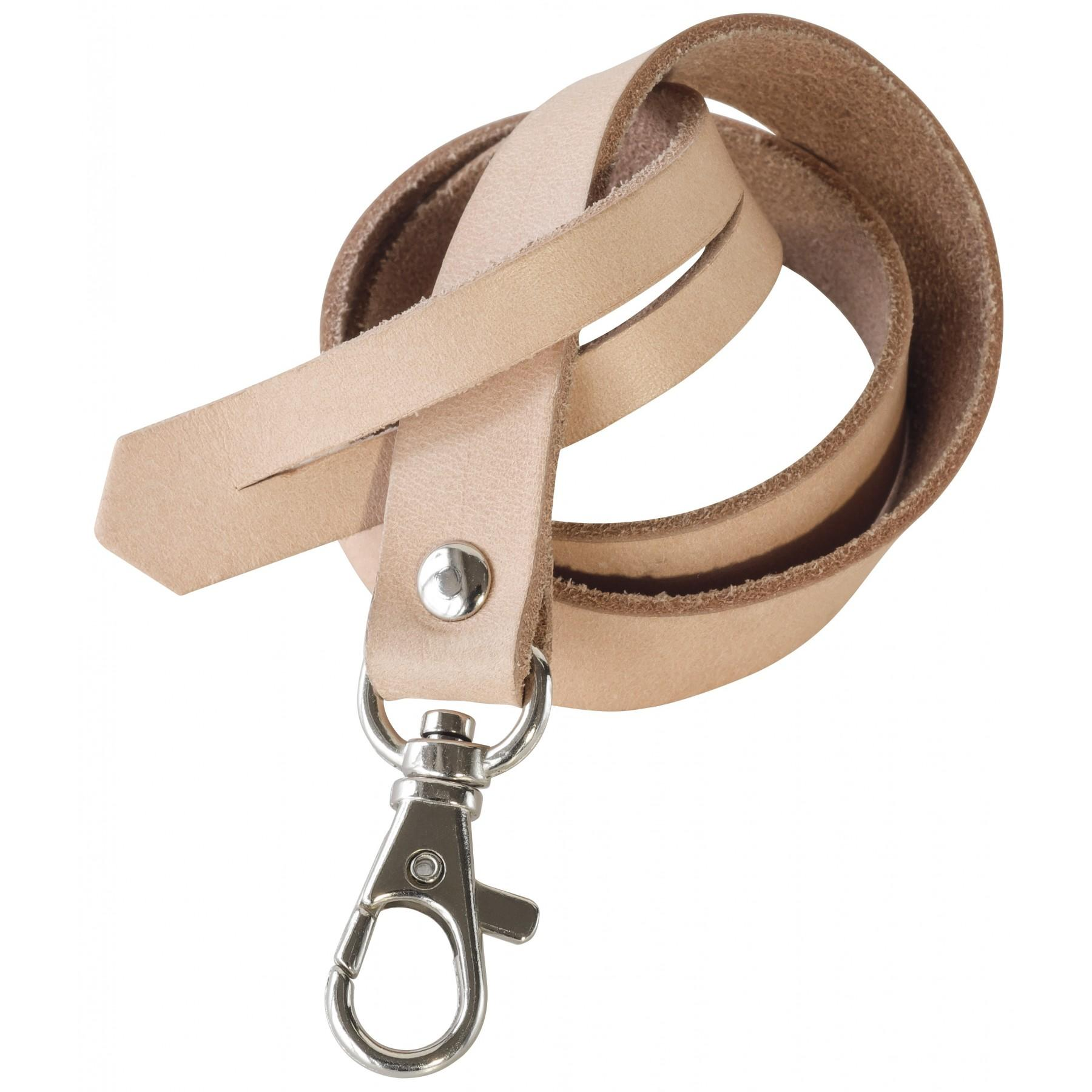 LEATHER KEY RING 50