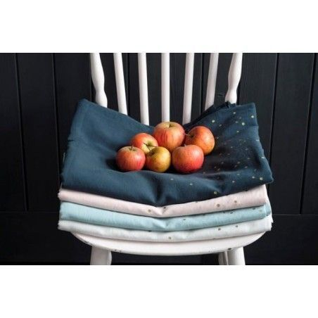NAPPE LINA BISCUIT PLUIE OR 160