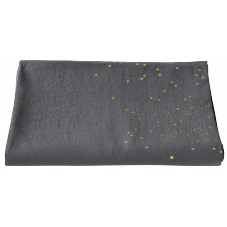 NAPPE LINA SESAME PLUIE OR