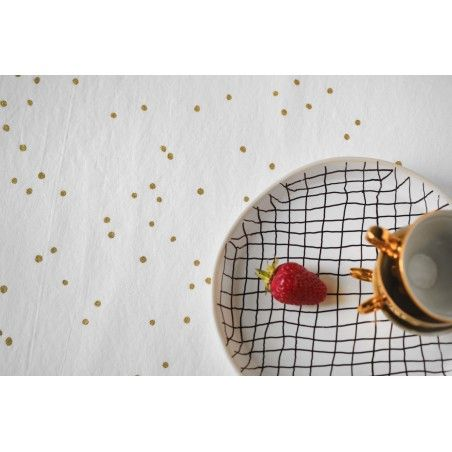 NAPPE LINA MILK PLUIE OR 160