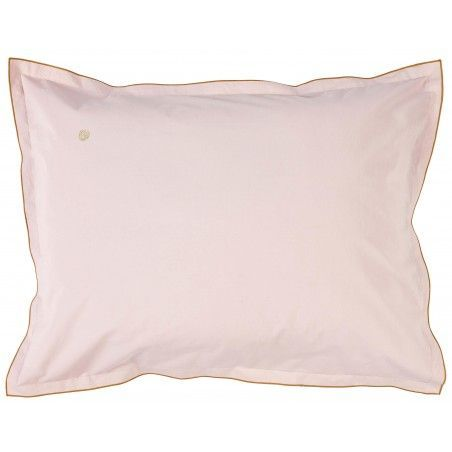 PILLOW CASE SWANN BISCUIT