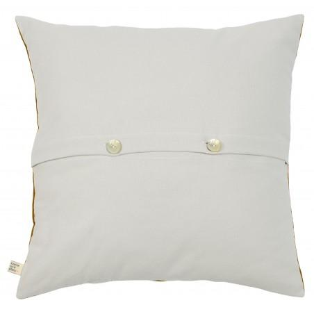 HOUSSE DE COUSSIN LINA BISCUIT OR 50