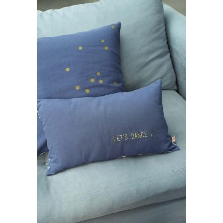 HOUSSE DE COUSSIN LINA BLUEBERRY OR 50