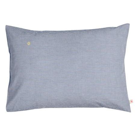 PILLOW CASE FINETTE INDIGO