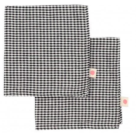 SET x2 SERVIETTES DE TABLE ERNEST CAVIAR 40