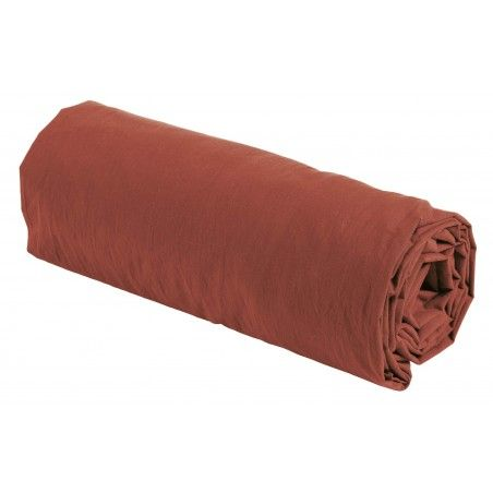 FITTED SHEET TERRACOTTA