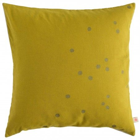 CUSHION COVER LINA COLOMBO GOLD DOTS 50