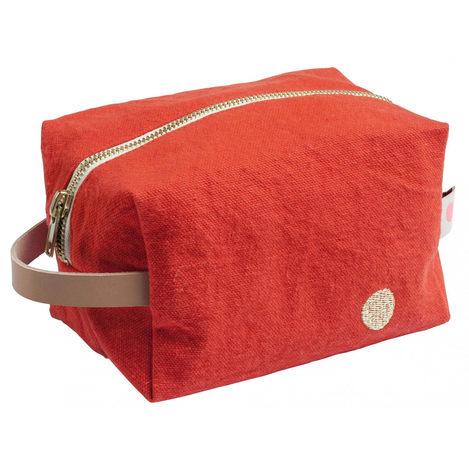 POUCH CUBE IONA PAPRIKA PM