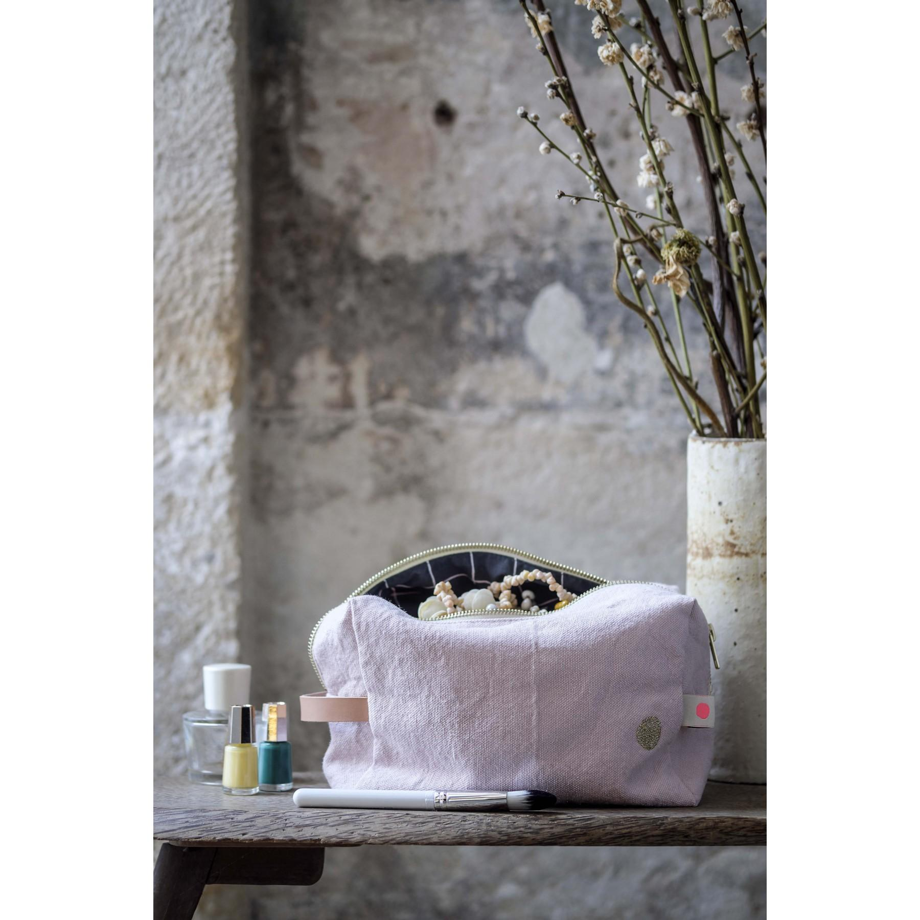 Photo d'ambiance TROUSSE CUBE IONA BISCUIT GM