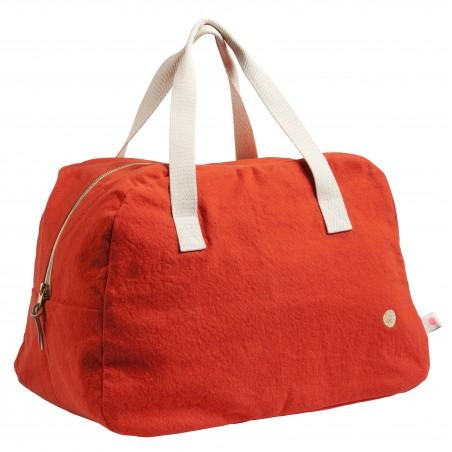 d5f47095184 Week-end Bag Red - 100% Cotton