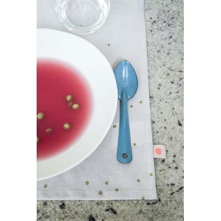 SET x2 SETS DE TABLE LINA CRAIE PLUIE OR