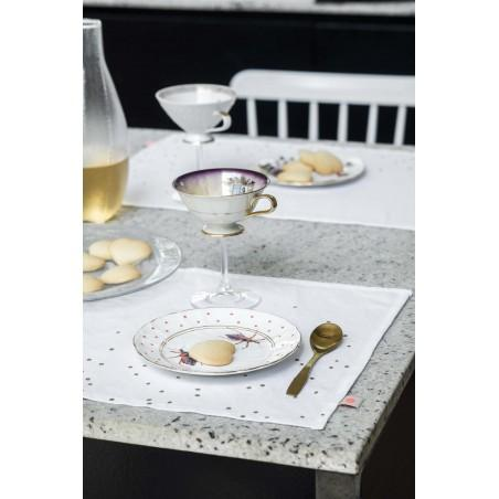 SET x2 SETS DE TABLE LINA MILK PLUIE OR