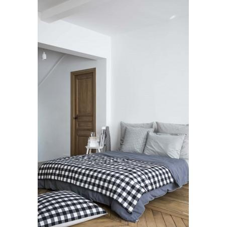 QUILTED BLANKET MAX CAVIAR 110