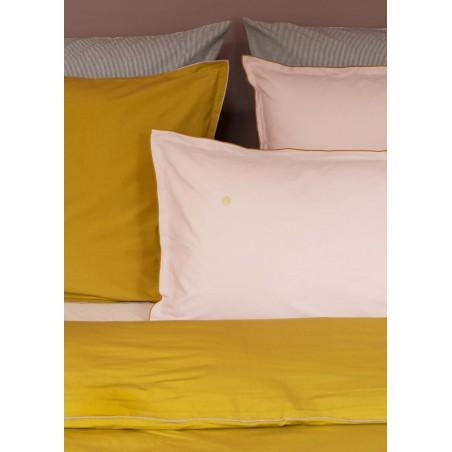 PILLOW CASE SWANN COLOMBO BISCUIT ORGANIC