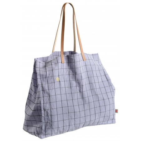 SHOPPING BAG OSCAR LILAS
