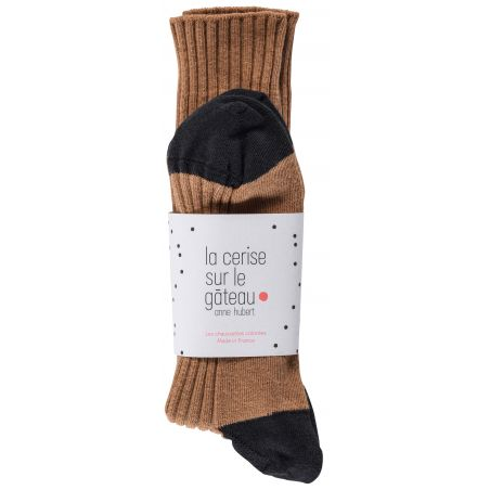 CHAUSSETTES YVETTE TOFFEE