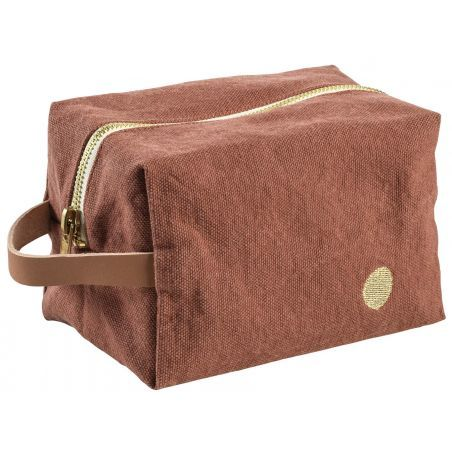 POUCH CUBE IONA RHUBARBE PM
