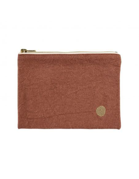 POUCH IONA RHUBARBE M