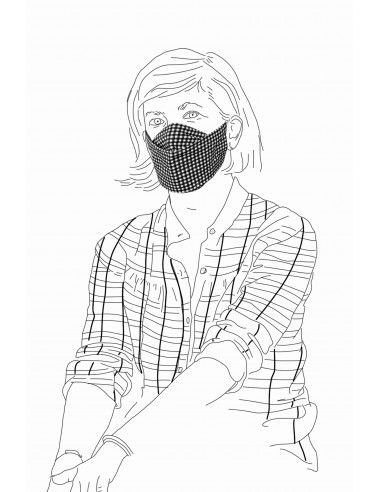 FABRIC FACE MASK ERNEST JERSEY