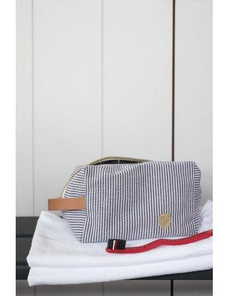 Visuel d'ambiance Trousse Cube Finette Indigo Petit modèle