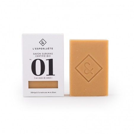 Product photo Extra rich soap organic certified n°1