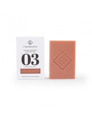 Product photo Extra rich soap organic certified n°3