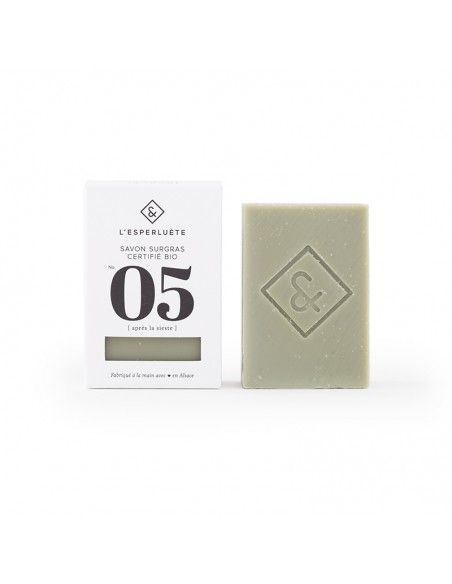 Product photo Extra rich soap organic certified n°5