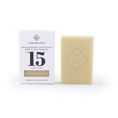 Product photo Extra rich soap organic certified n°15