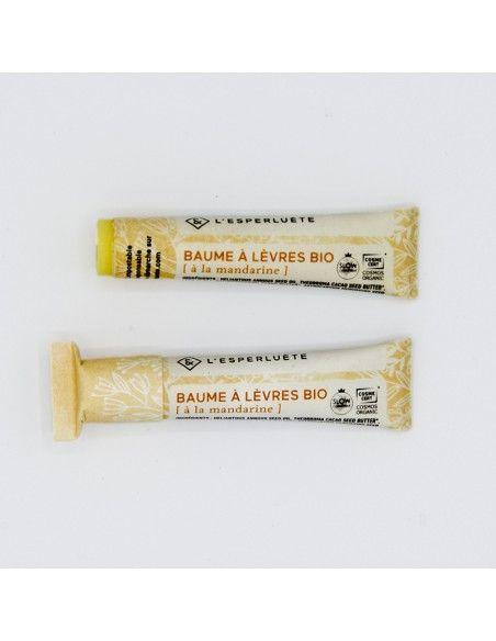 Product photo L'esperluète Mandarin organic lip balm