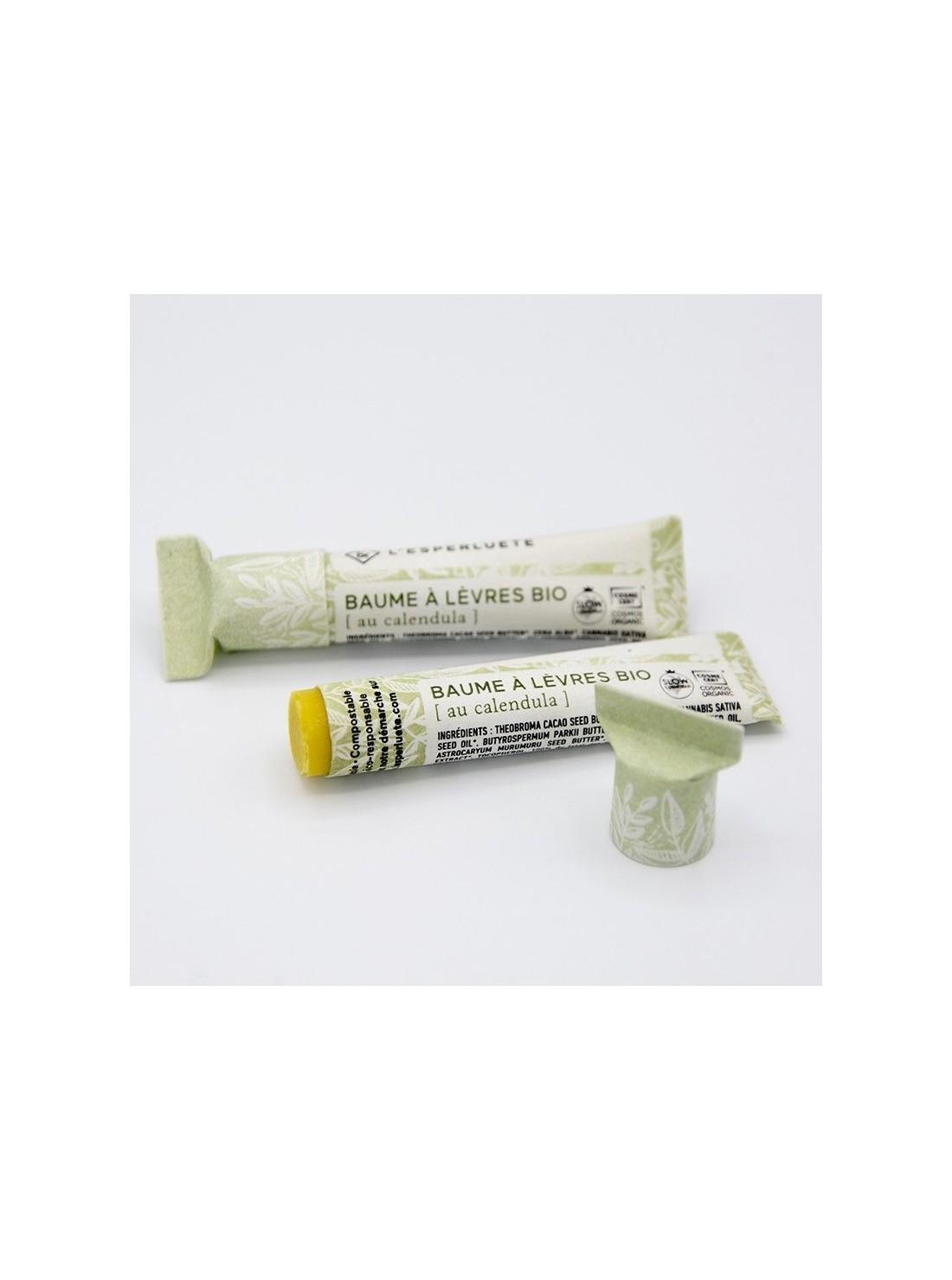 Photo détourée Baume à lèvres bio calendula L'esperluète