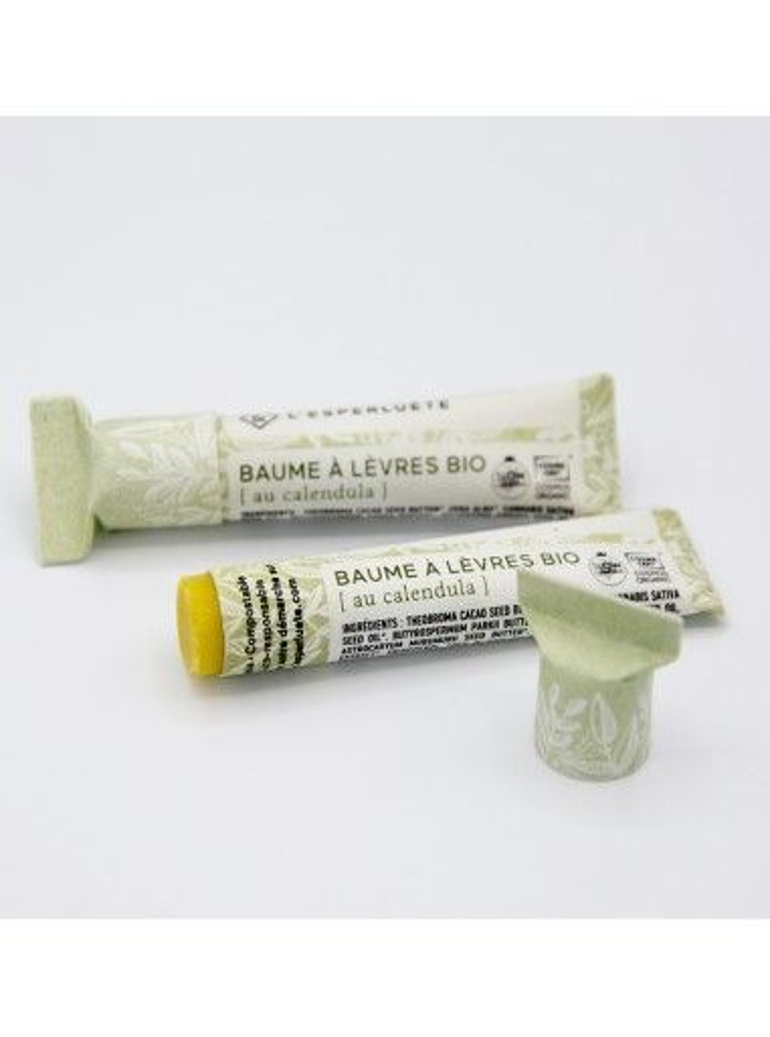 Product photo L'esperluète Calendula organic lip balm