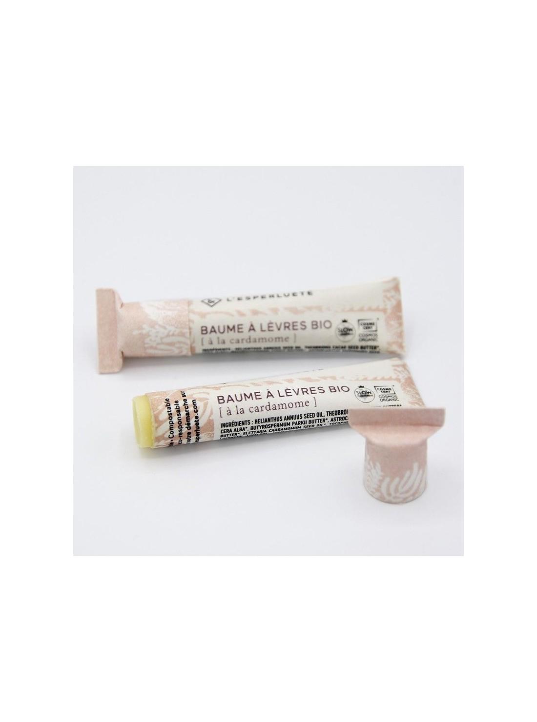 Photo détourée Baume à lèvres bio cardamome L'esperluète