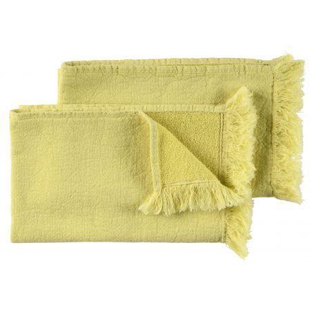 Product photo Set of guest towels Luna Bergamote 30