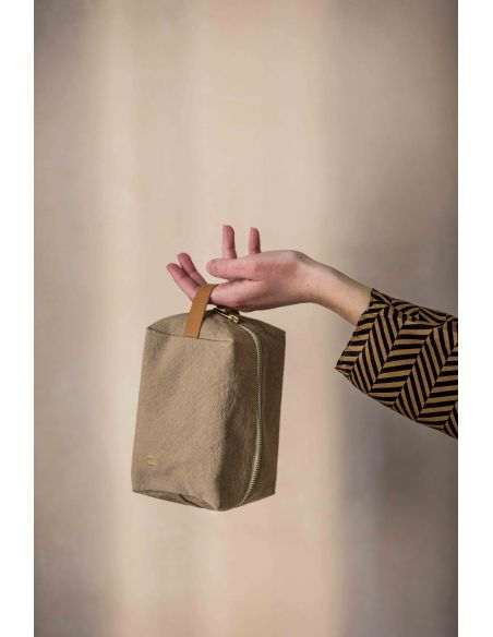 Product photo Cube Pouch Iona Ginger S